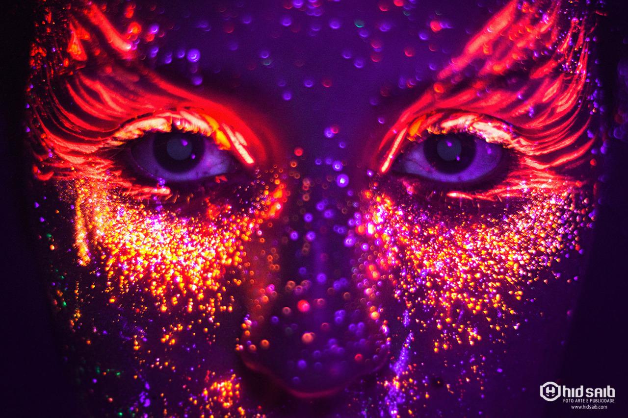 Amado Maquiagem neon e um ensaio inovador – Blog – Vitamina de Banana EE49